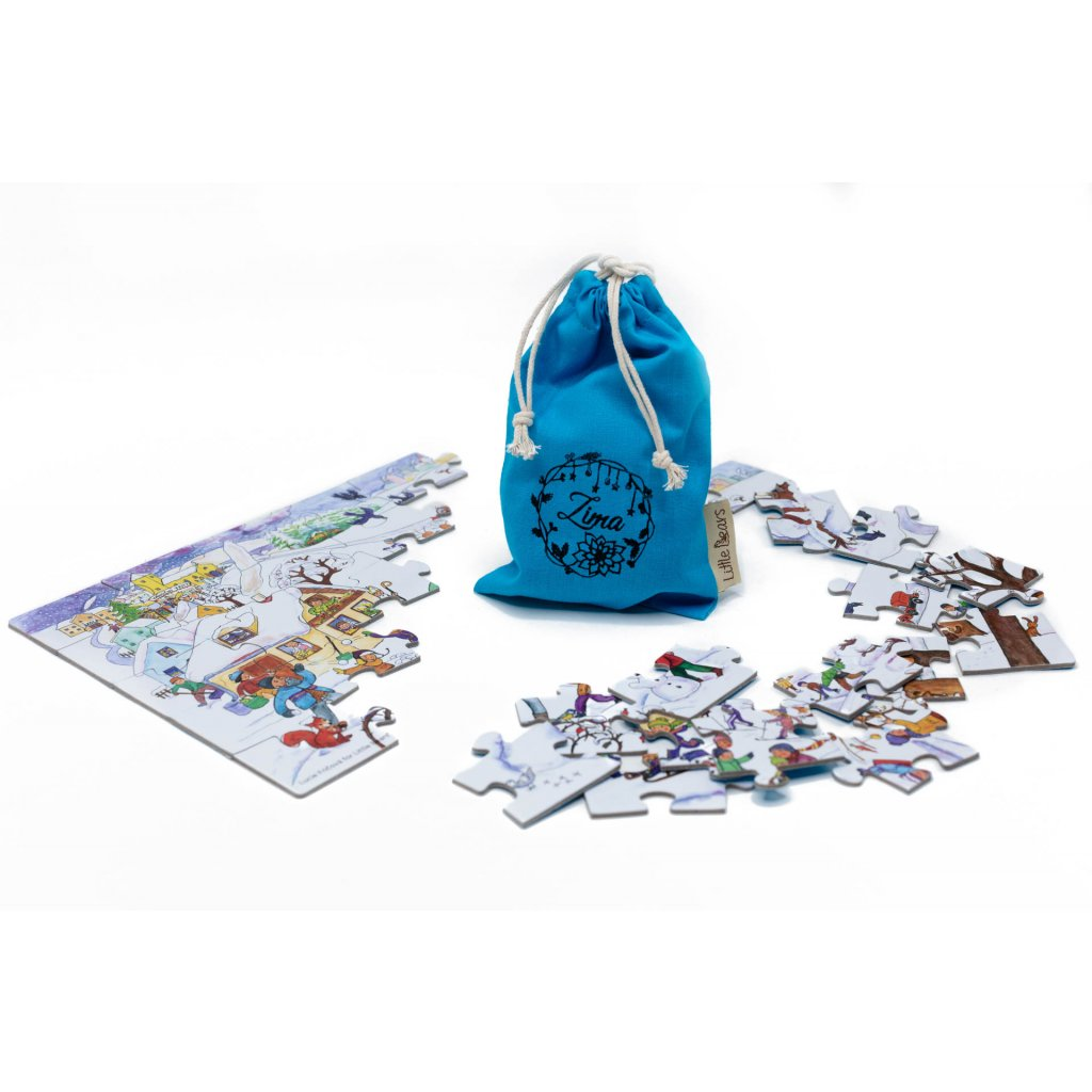 4731 little bears puzzle zima