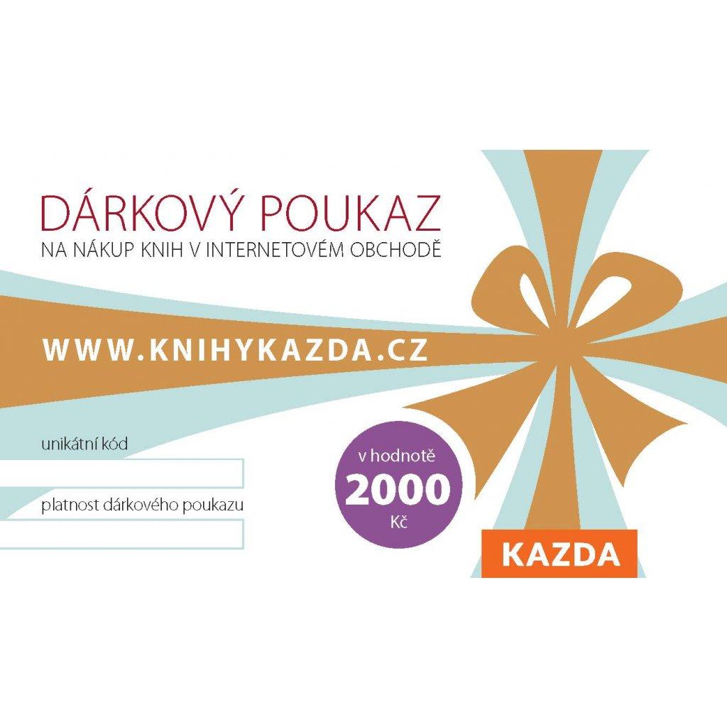 Dark poukaz Kazda 2000 RGB