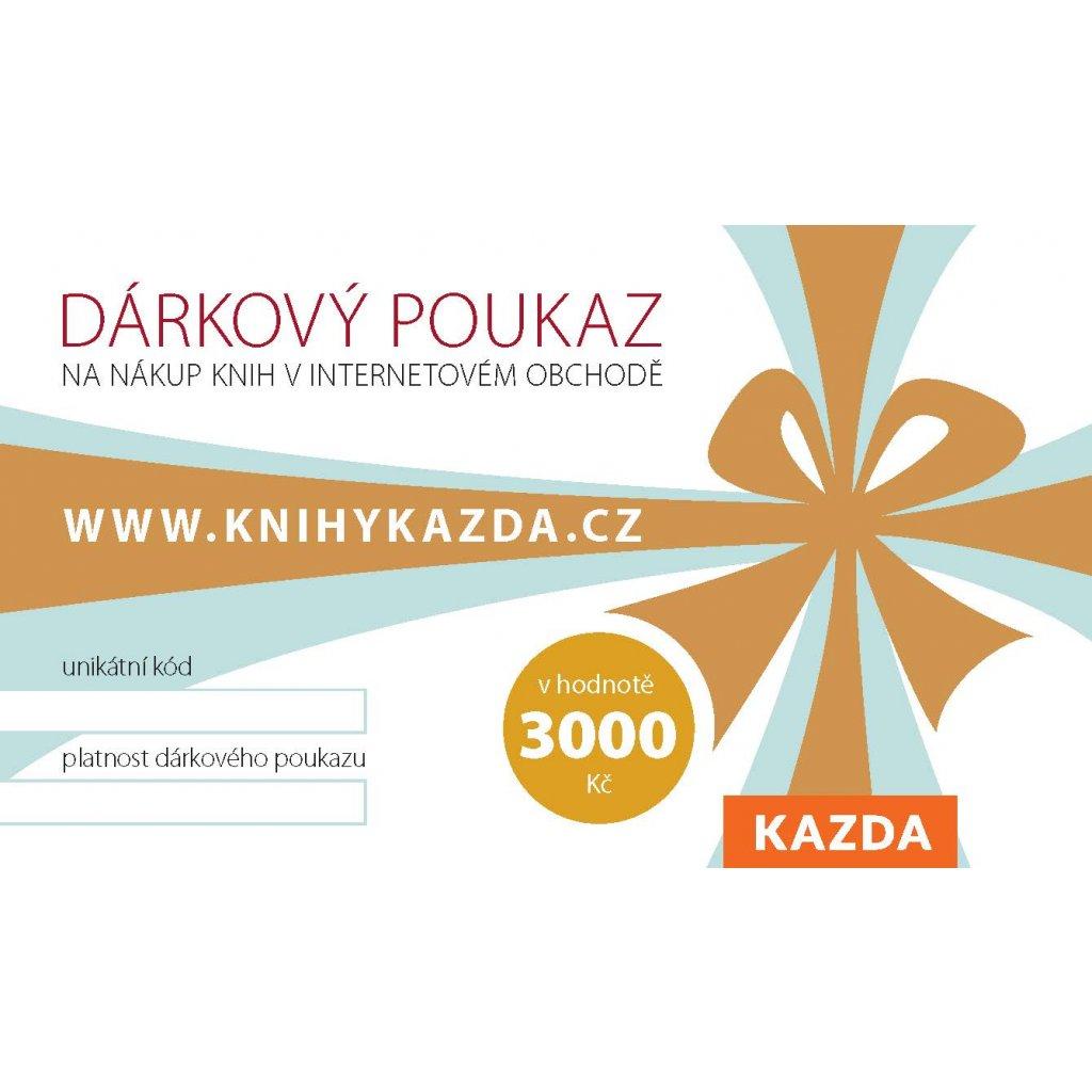 Dark poukaz Kazda 3000 RGB