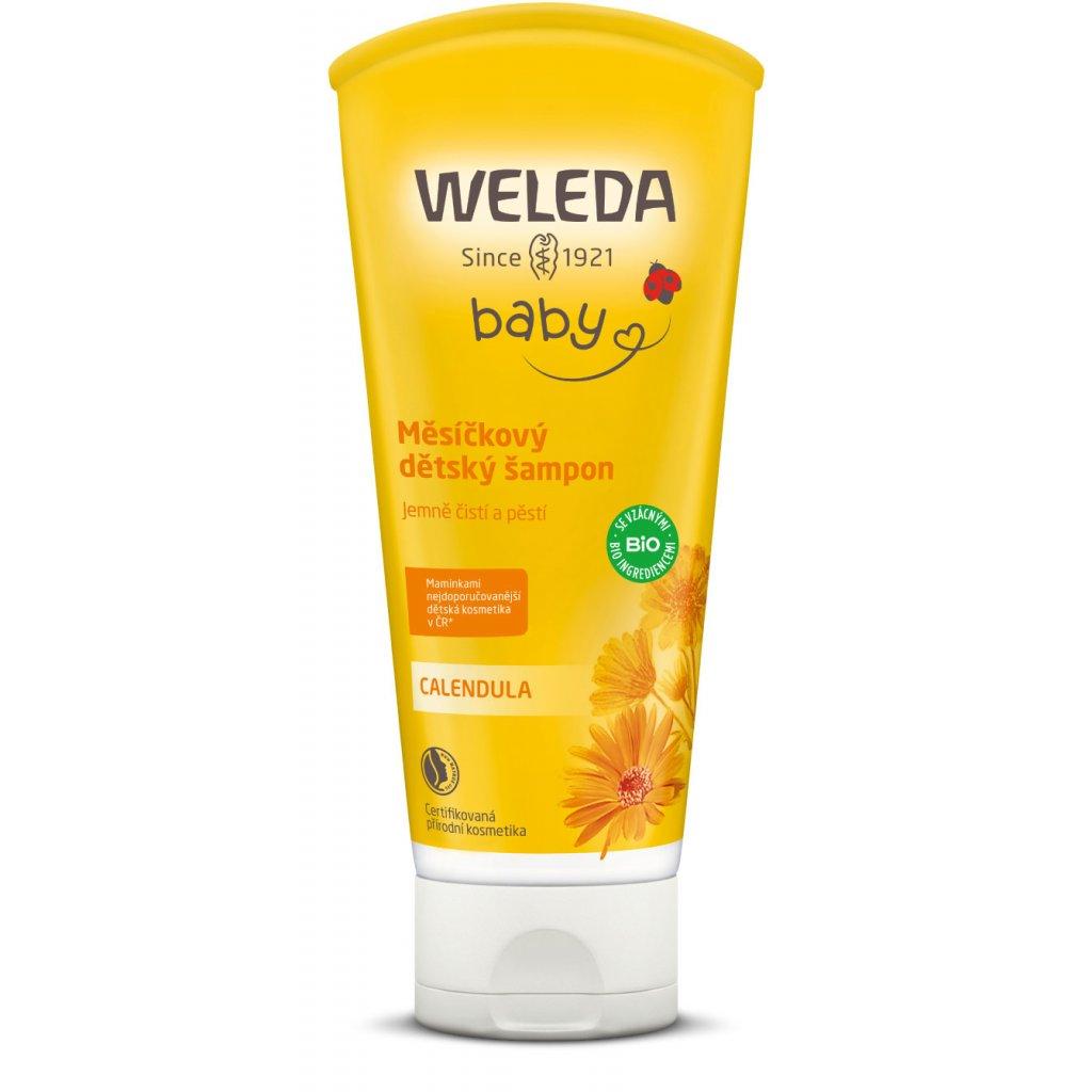 Měsíčkový dětský šampon Weleda (objem 200 ml)