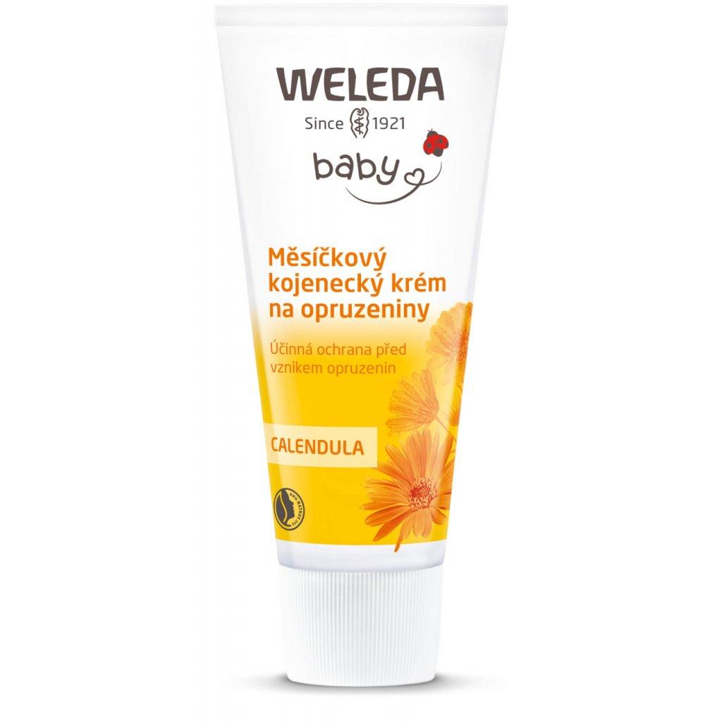 Měsíčkový kojenecký krém na opruzeniny Weleda (objem 75 ml)