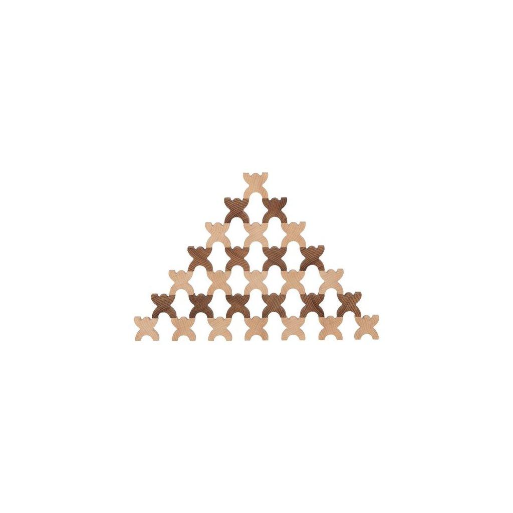 6066 1 hra x man ze dreva 48 dilu
