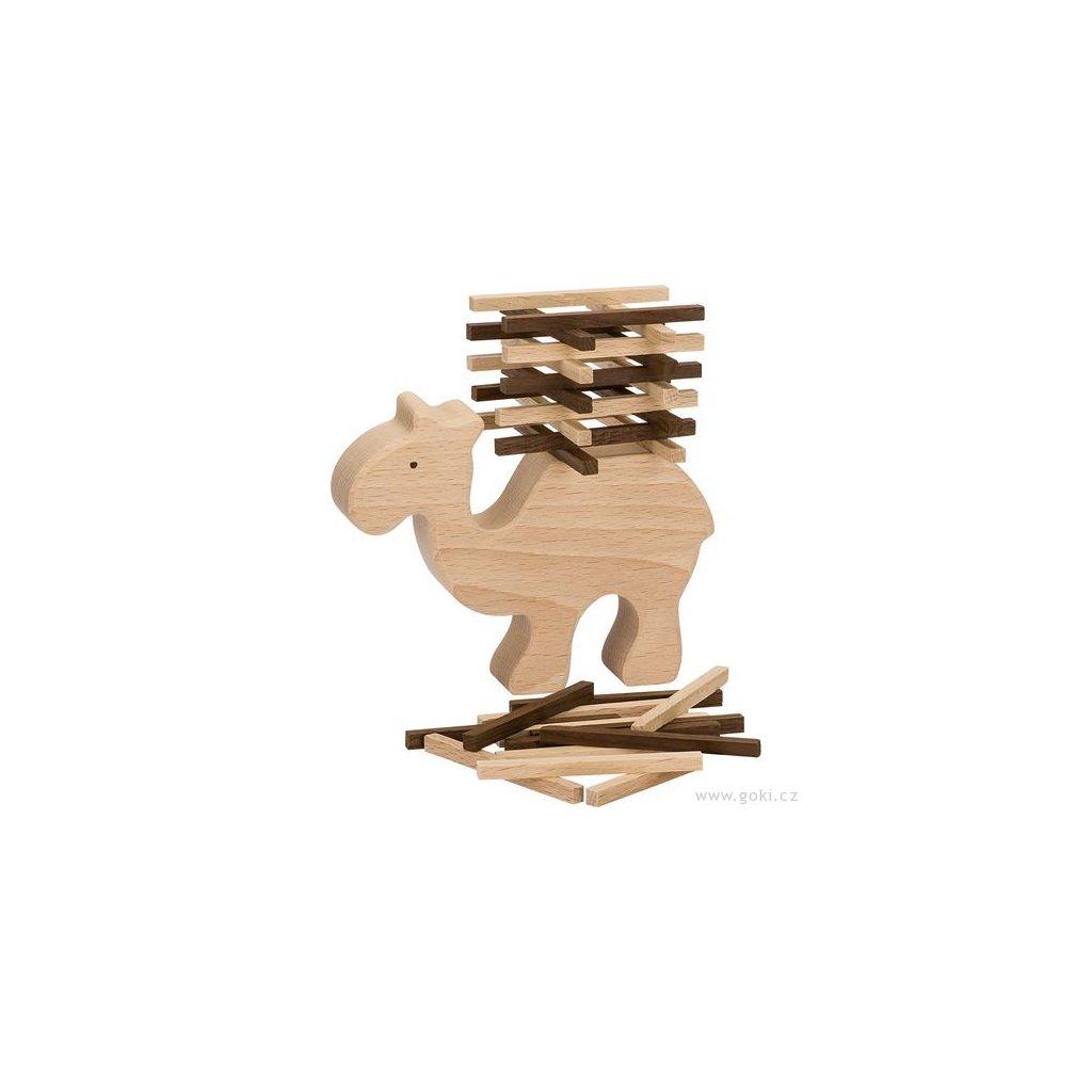 6075 1 dovednostni a balancni hra velbloud 60 dilu