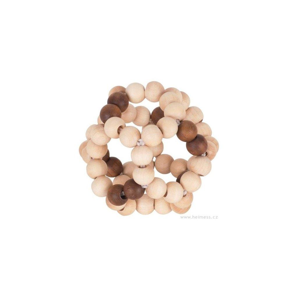 6084 1 elasticky mic prirodni hracka do ruky