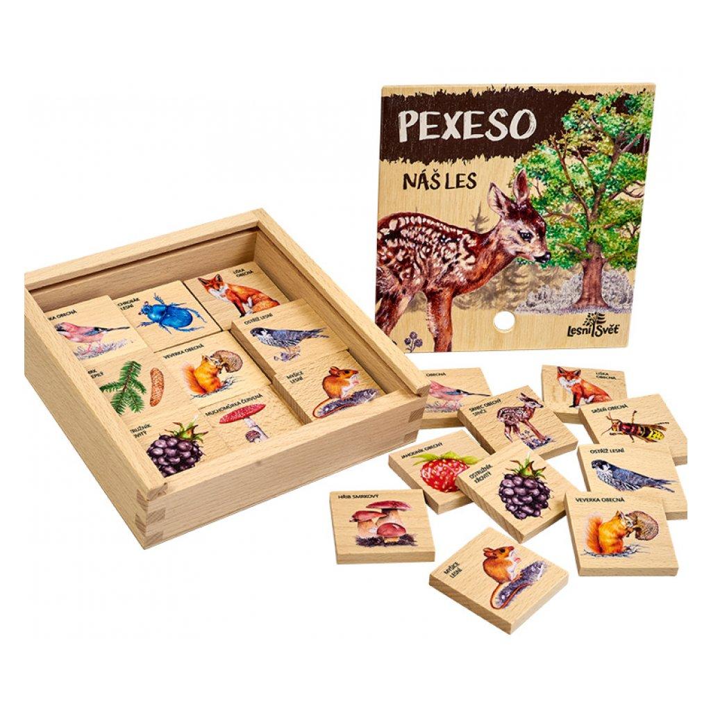 13674 pexeso klasicke nas les