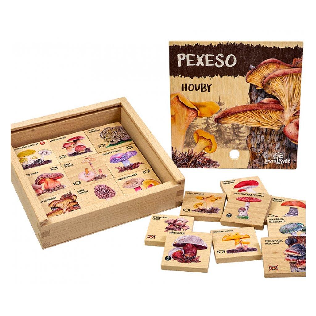 13881 pexeso klasicke houby