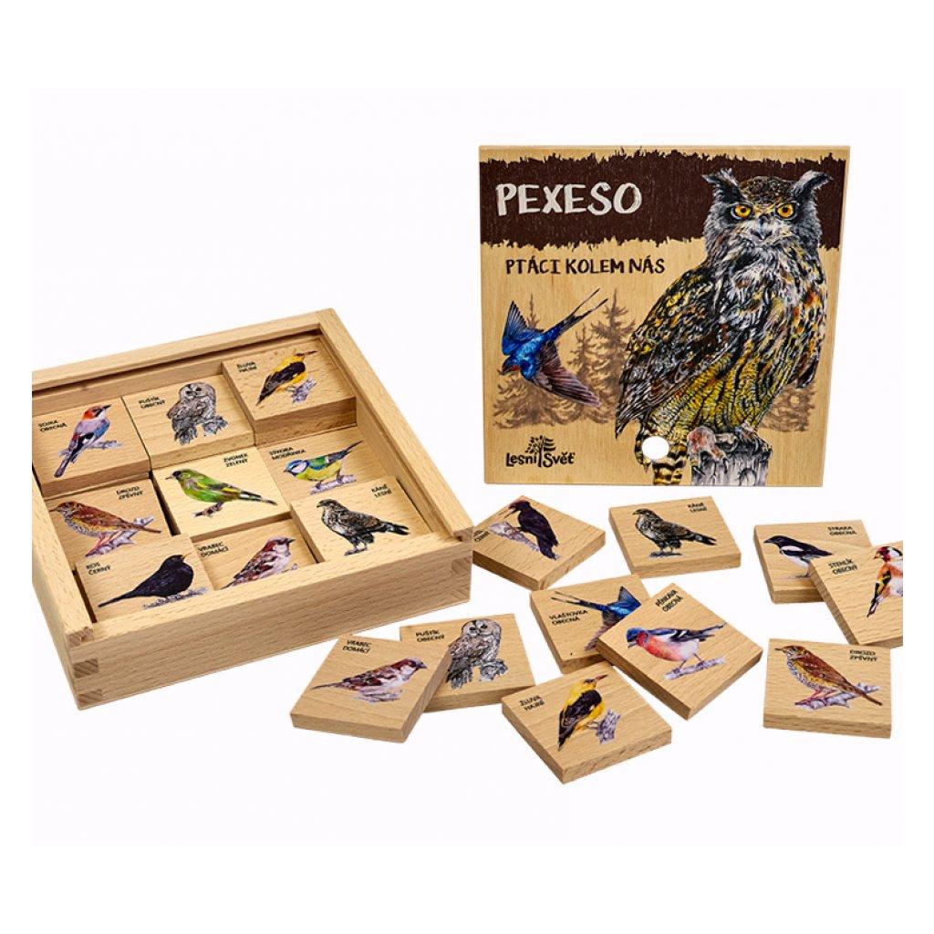 13890 pexeso klasicke ptaci kolem nas