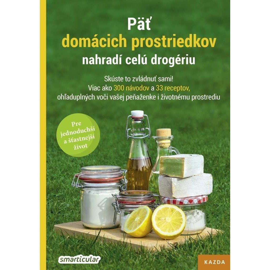 Smarticular: Päť domácich prostriedkov nahradí celú drogériu, slovensky