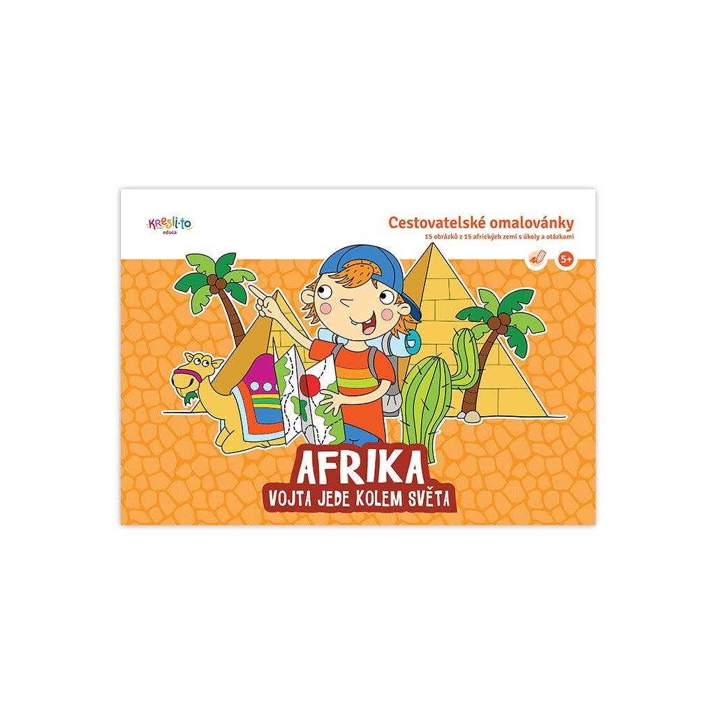 15345 vojta jede do sveta afrika omalovanky s ukoly a otazkami