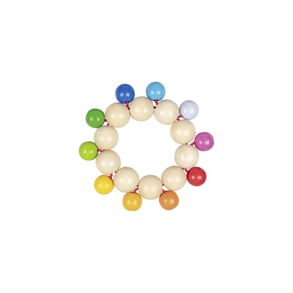 Duhové perličky - hračka do ruky