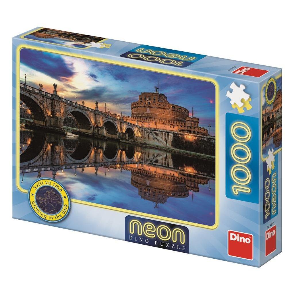 Puzzle ANDĚLSKÝ HRAD 1000 neon