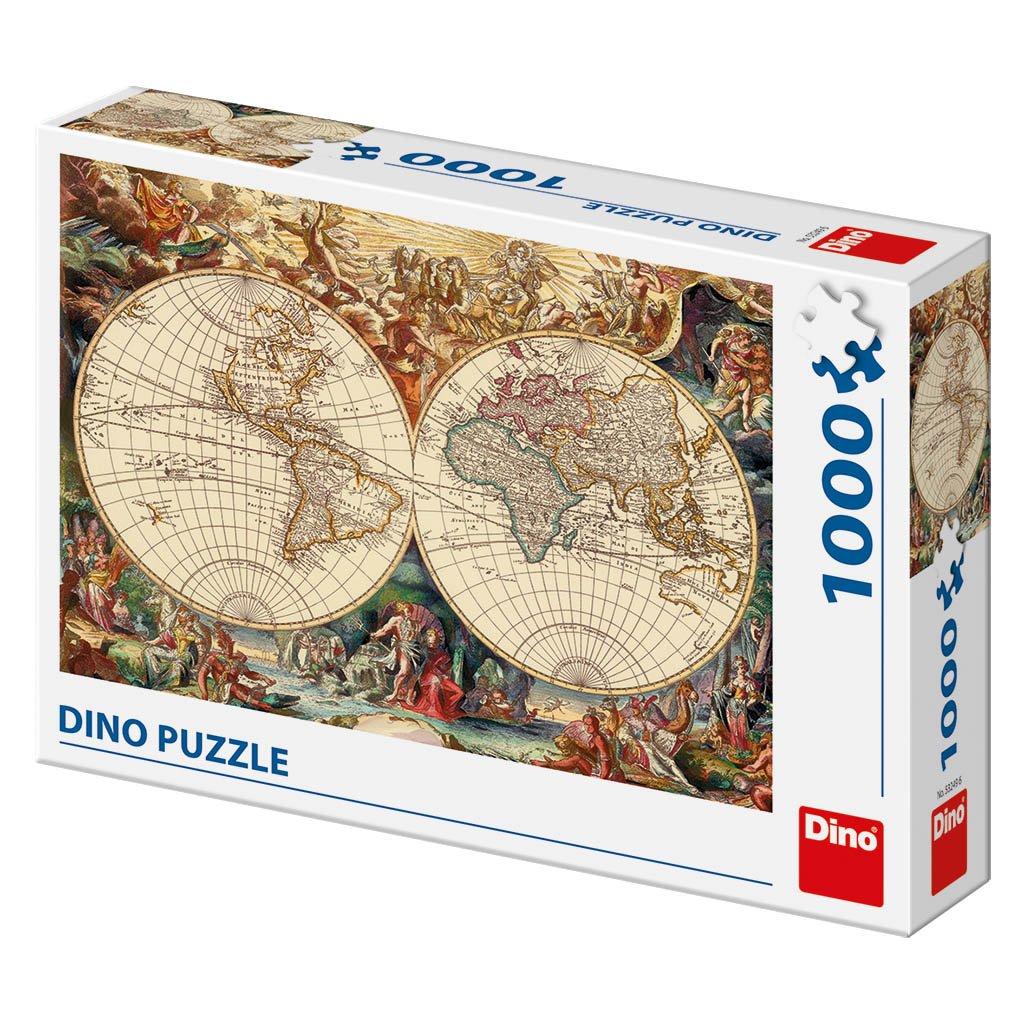 Puzzle HISTORICKÁ MAPA 1000