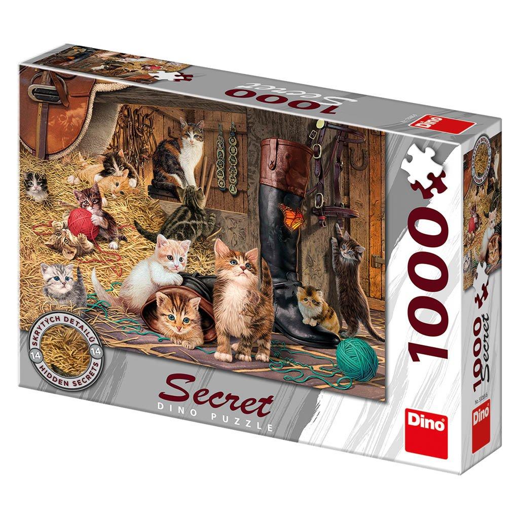 Puzzle KOČIČKY 1000 secret collection