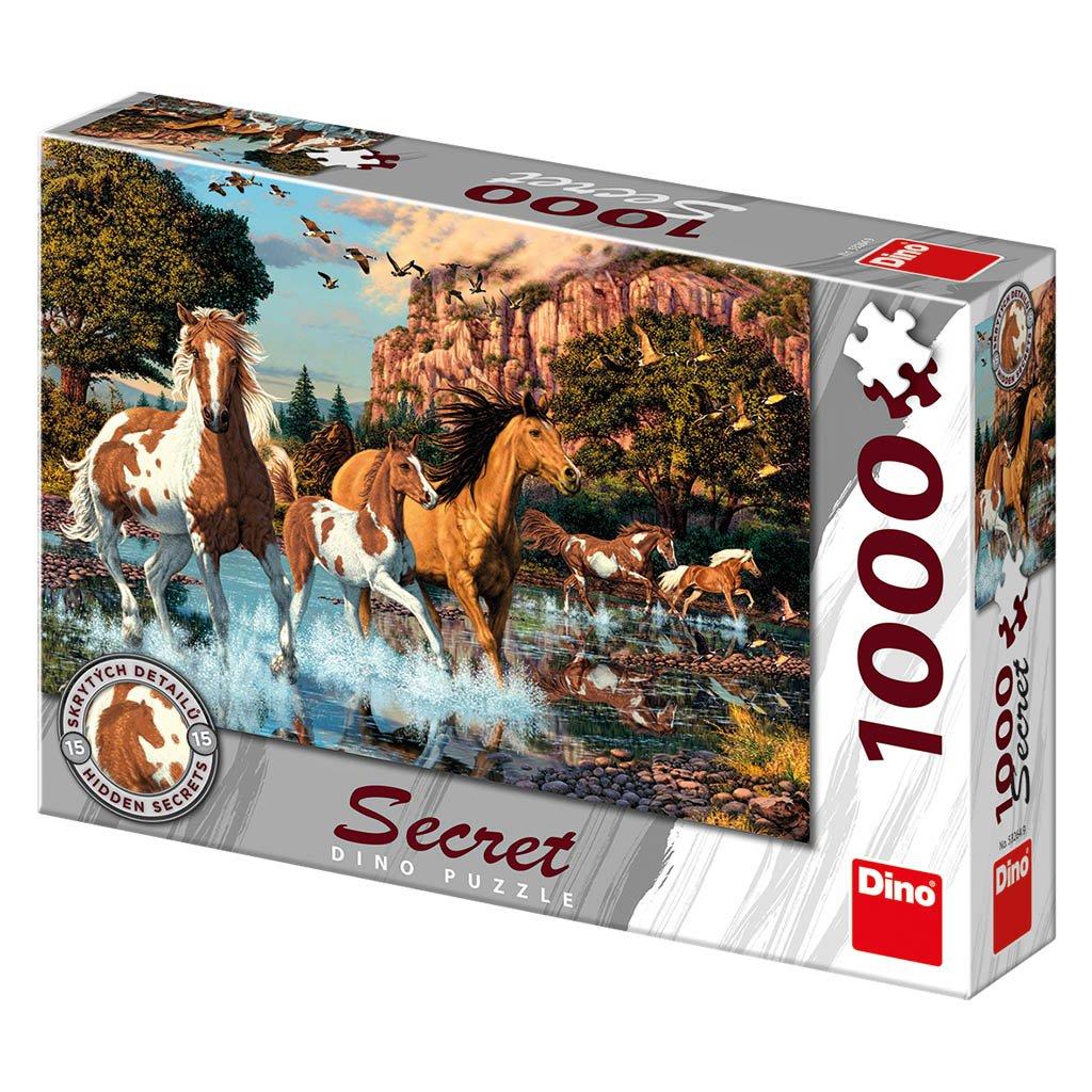 Puzzle KONĚ 1000 secret collection
