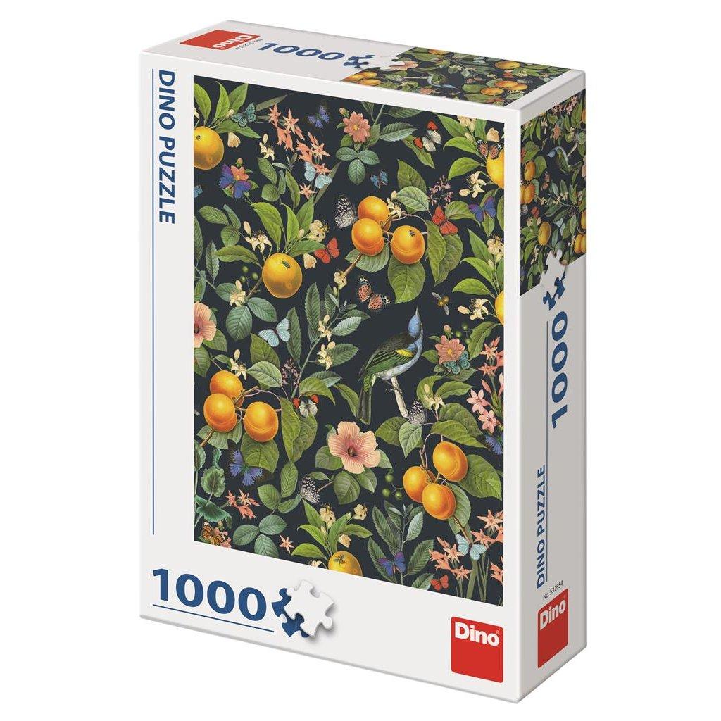 Puzzle KVETOUCÍ POMERANČE 1000
