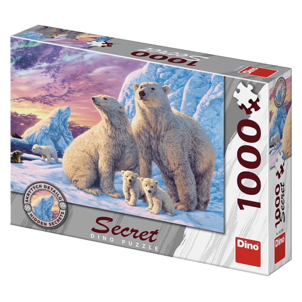 Puzzle LEDNÍ MEDVĚDI 1000 secret collection