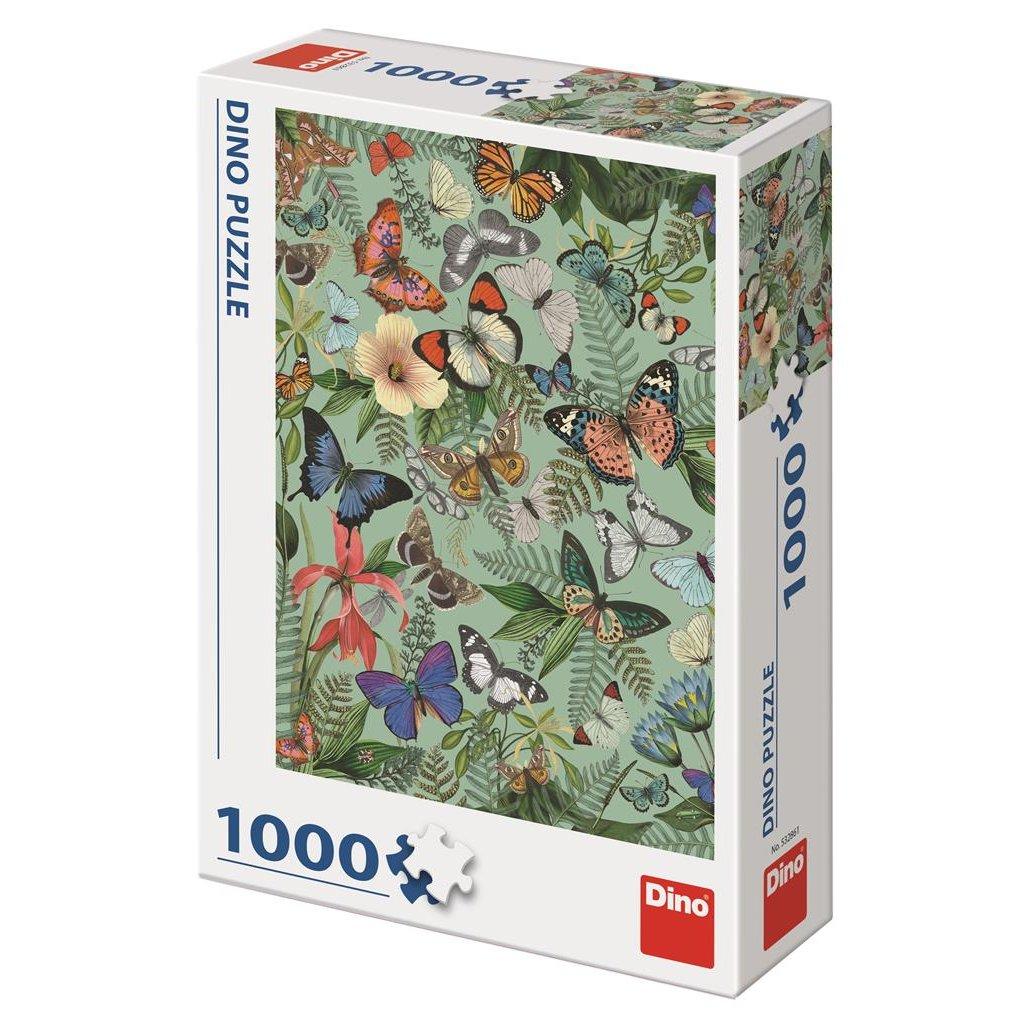 Puzzle MOTÝLÍ LOUKA 1000