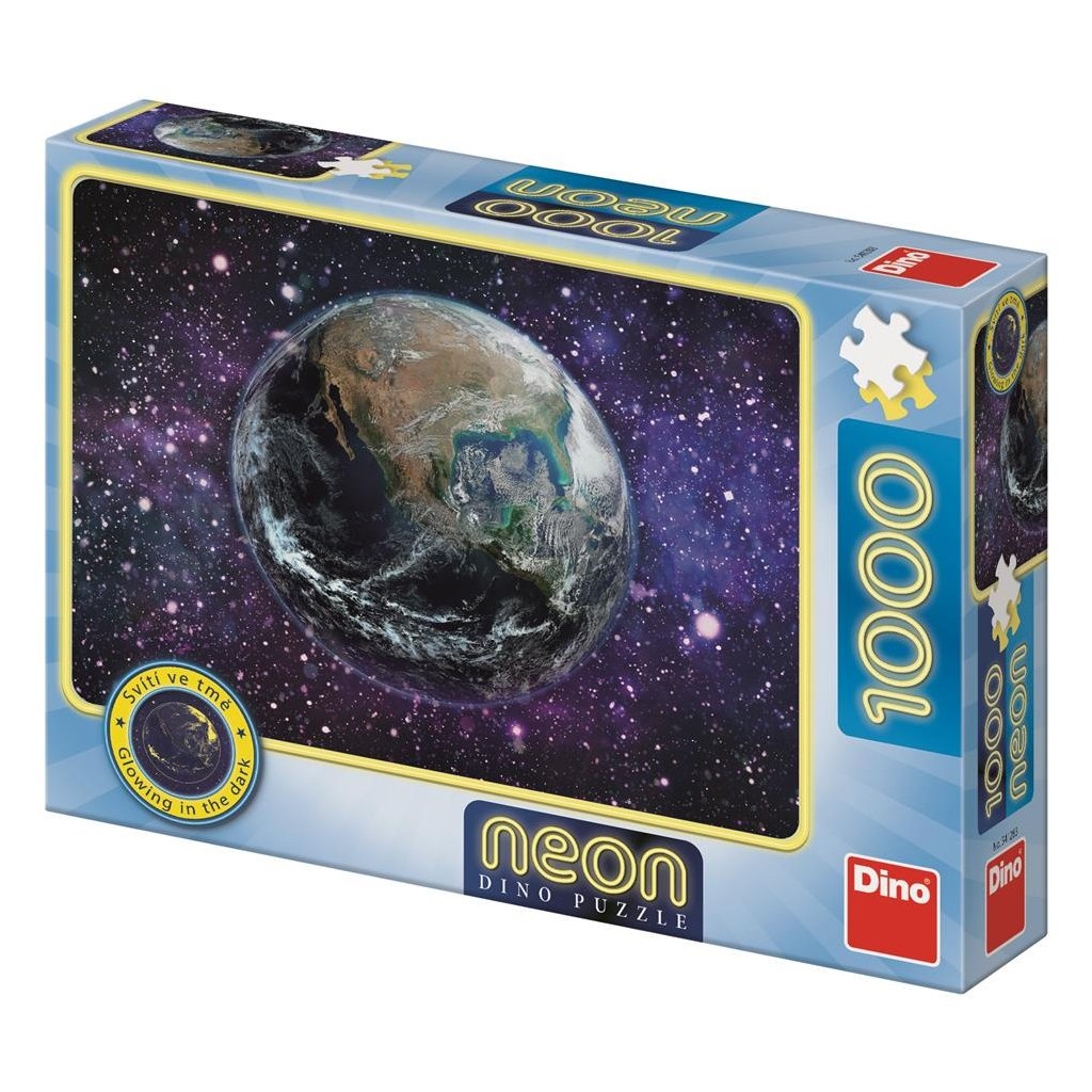 Puzzle PLANETA ZEMĚ 1000 neon