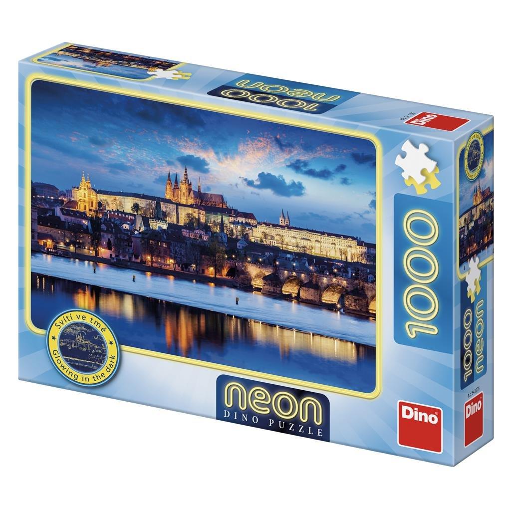 Puzzle PRAŽSKÝ HRAD 1000 neon