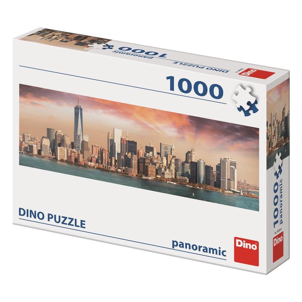 Puzzle MANHATTAN ZA SOUMRAKU 1000 panoramic