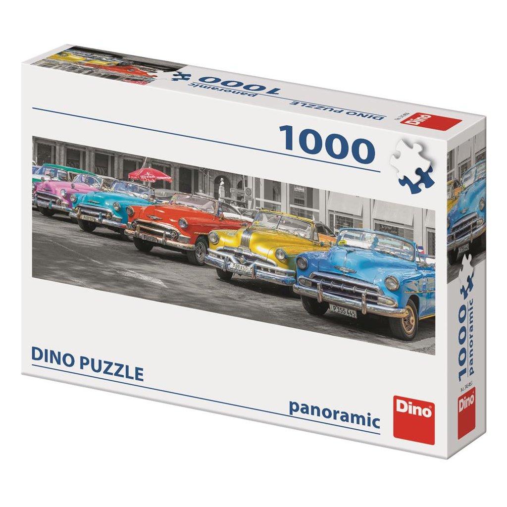 Puzzle SRAZ BOURÁKŮ 1000 panoramic