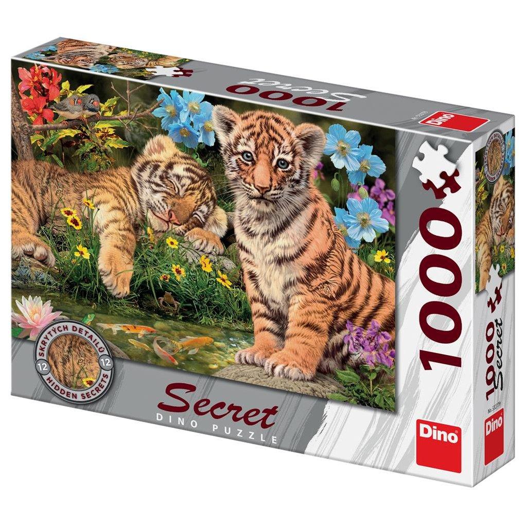 Puzzle TYGŘÍCI 1000 secret collection