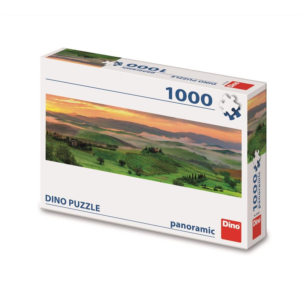 Puzzle ZÁPAD SLUNCE 1000 panoramic