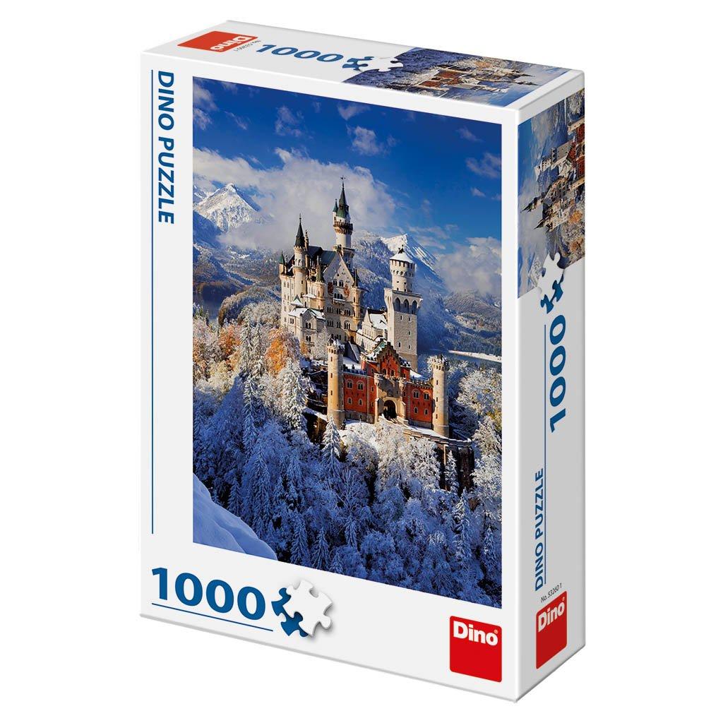 Puzzle ZIMNÍ NEUSCHWANSTEIN 1000