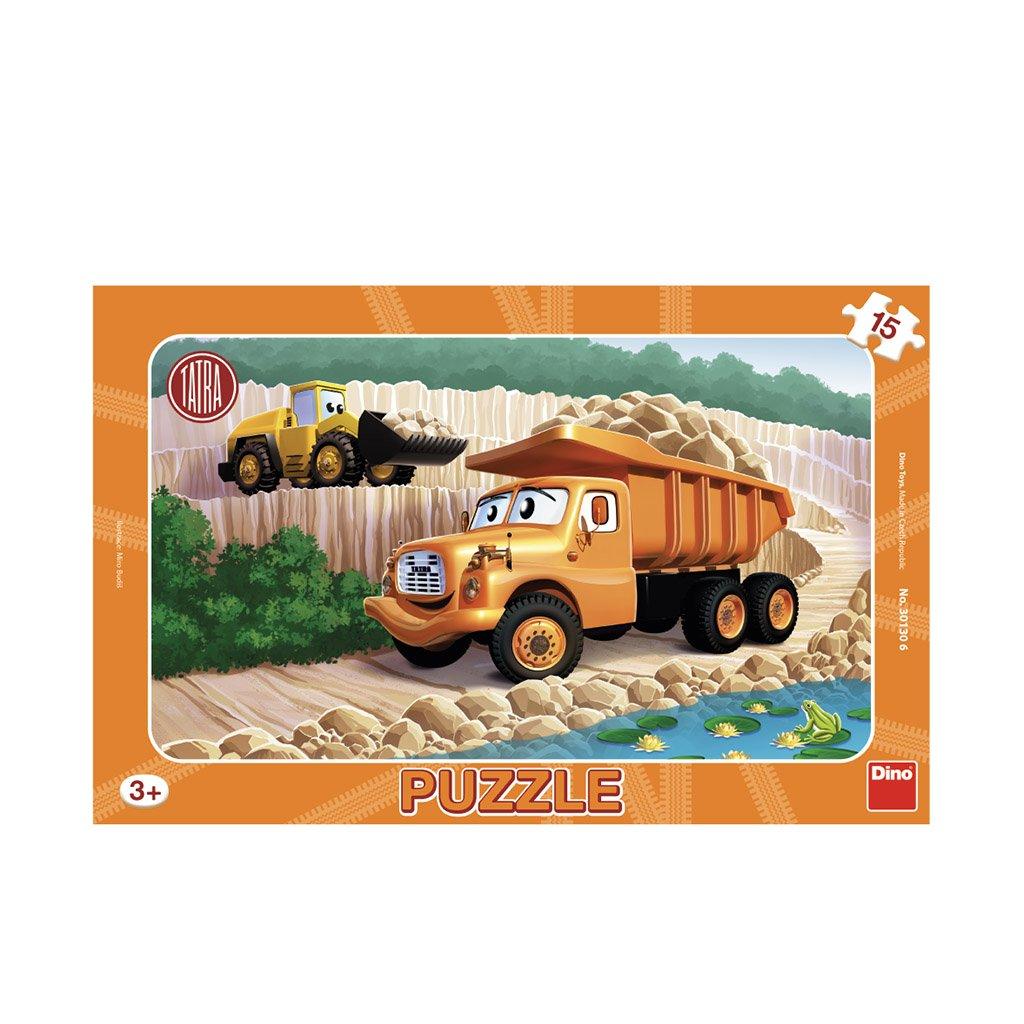 Puzzle TATRA 15 deskové
