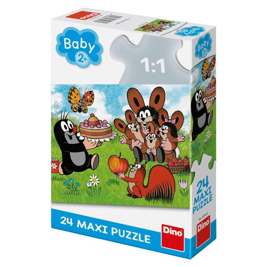 Puzzle KRTEK: NAROZENINY 24 maxi