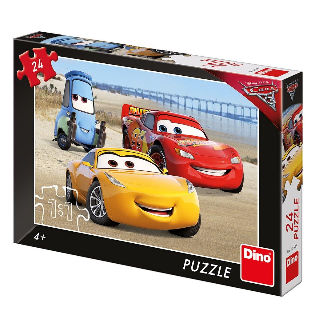 Puzzle CARS 3: NA PLÁŽI 24