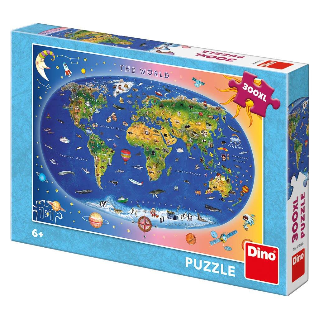 Puzzle DĚTSKÁ MAPA 300 XL