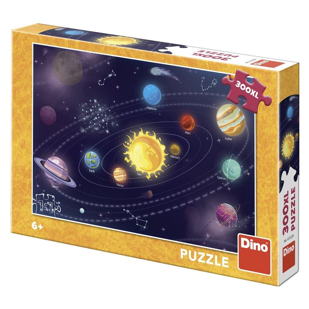 Puzzle DĚTSKÁ SLUNEČNÍ SOUSTAVA 300 XL