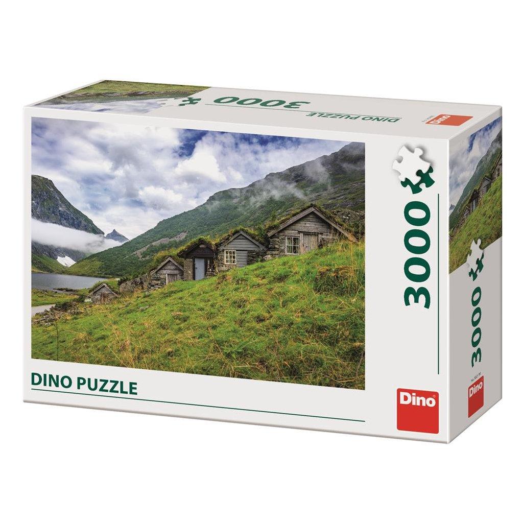 Puzzle NORANGSDALEN VALLEY 3000