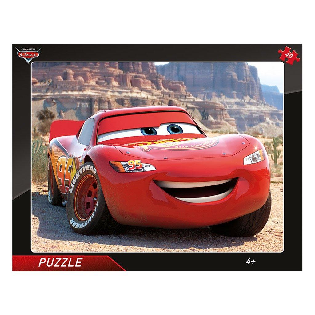 Puzzle CARS: BLESK MCQUEEN 40 deskové