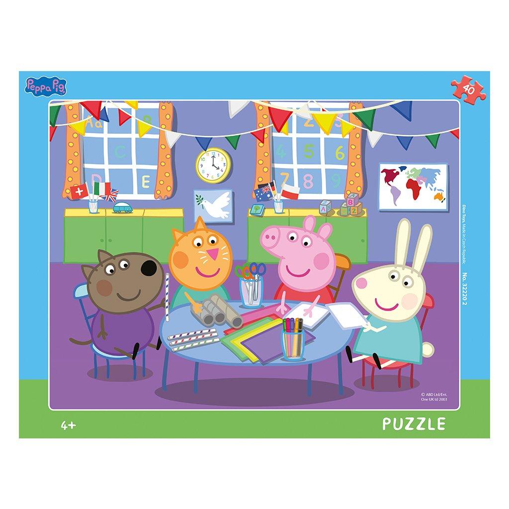 Puzzle PEPPA PIG: VE ŠKOLCE 40 deskové