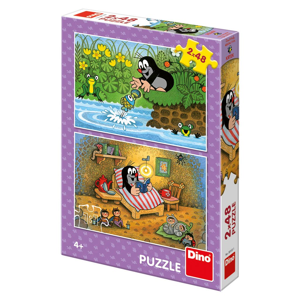 Puzzle KRTEK A PERLA 2x48
