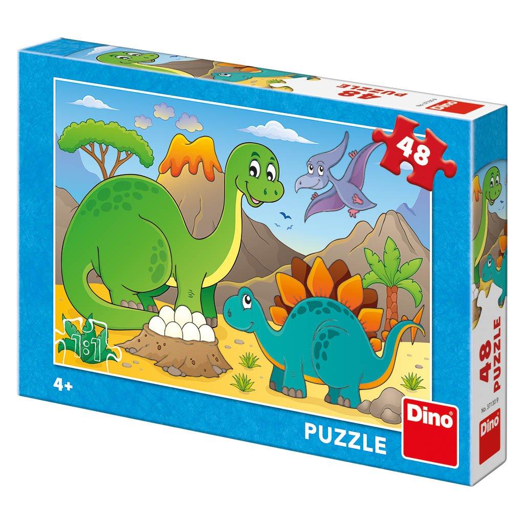 Puzzle DINOSAUŘI 48