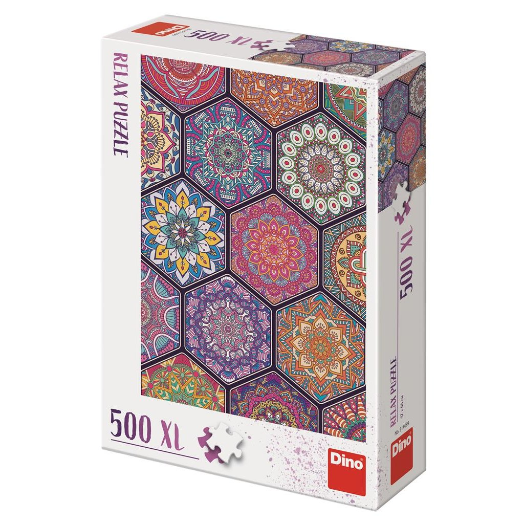Puzzle MANDALY 500 XL relax