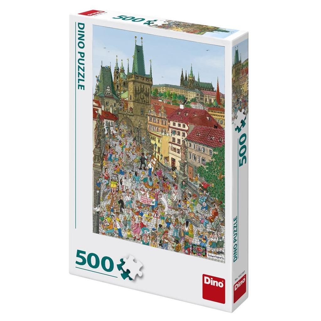 Puzzle MOSTECKÁ VĚŽ 500