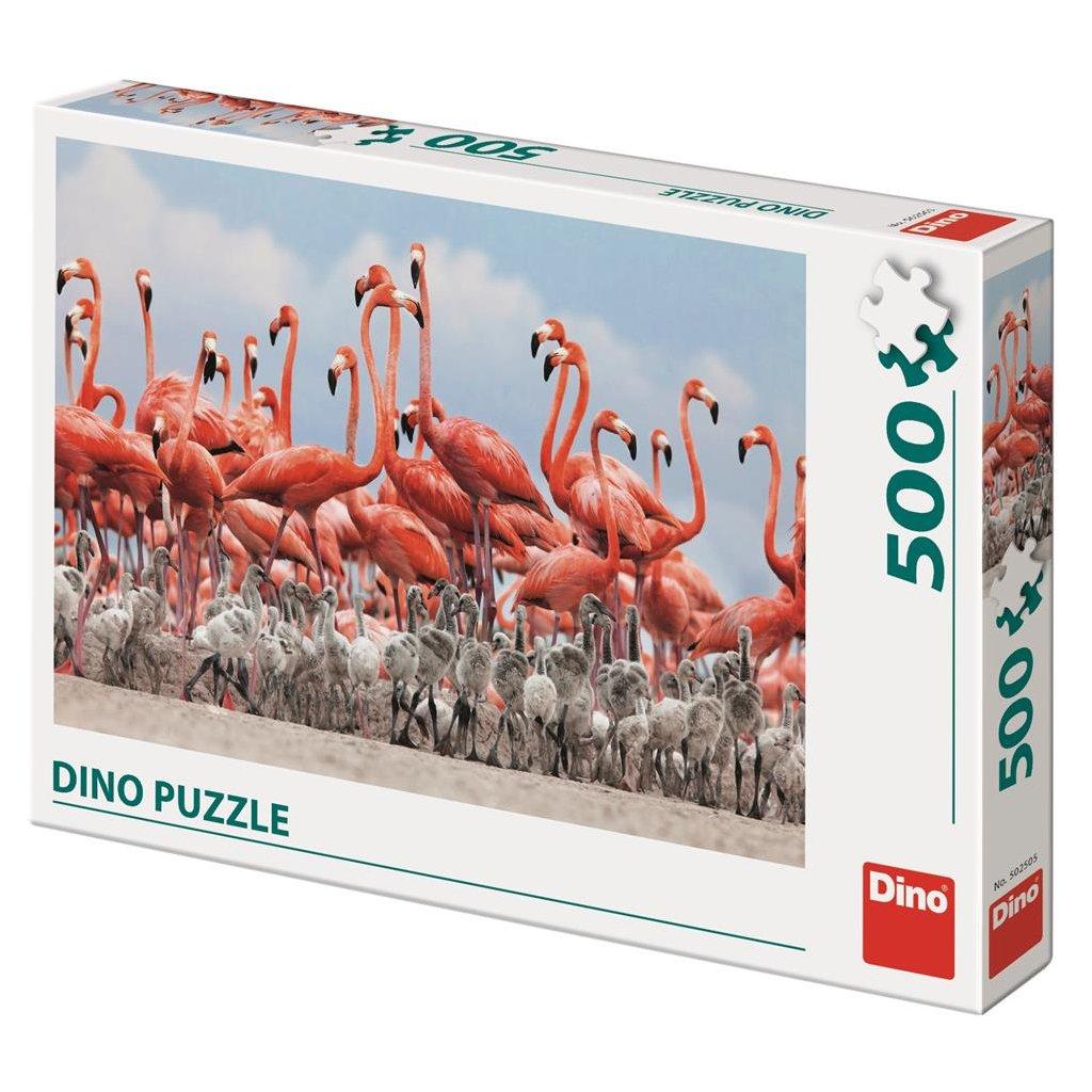 Puzzle PLAMEŇÁCI 500