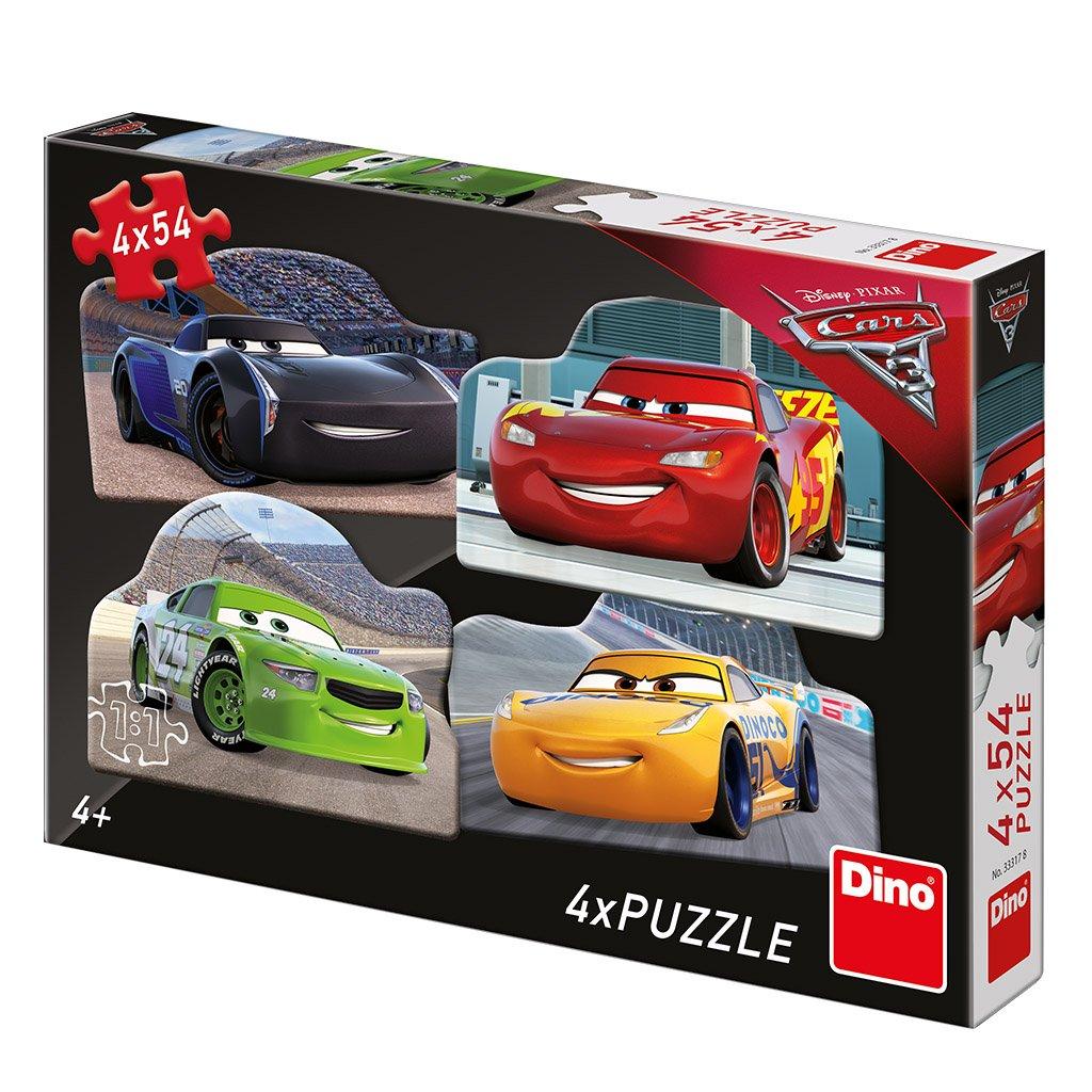 Puzzle CARS 3: RIVALOVÉ 4x54