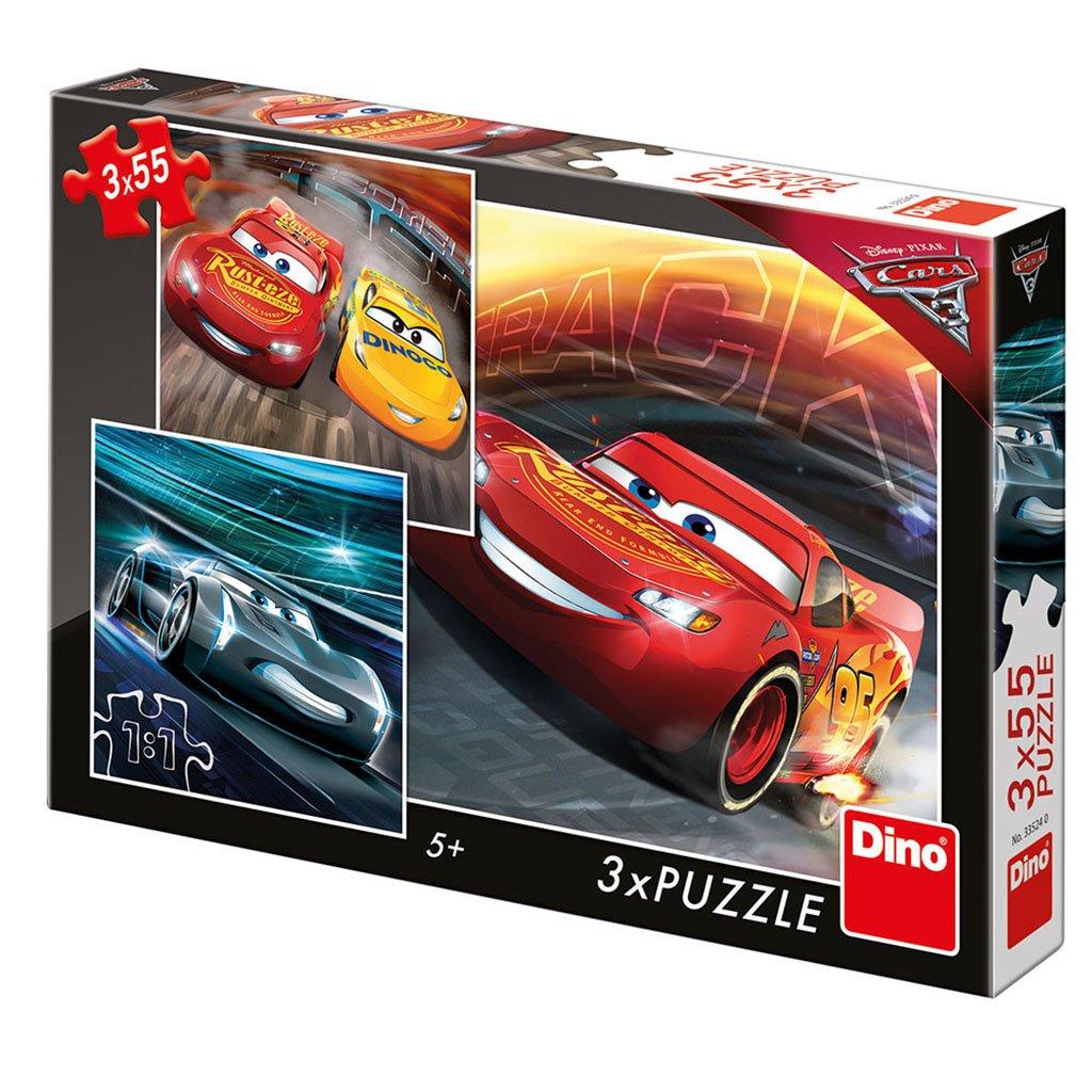 Puzzle CARS 3: TRÉNINK 3x55
