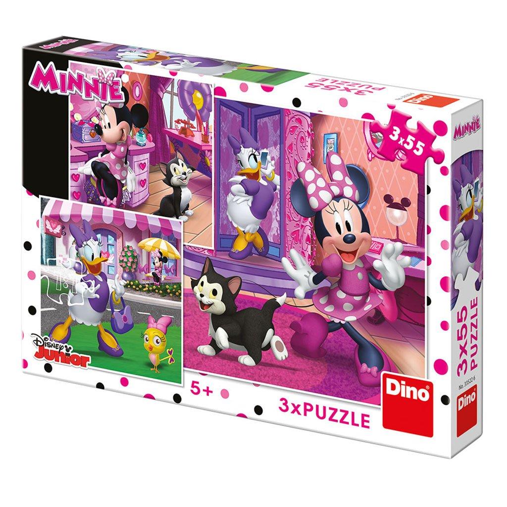Puzzle DEN S MINNIE 3x55