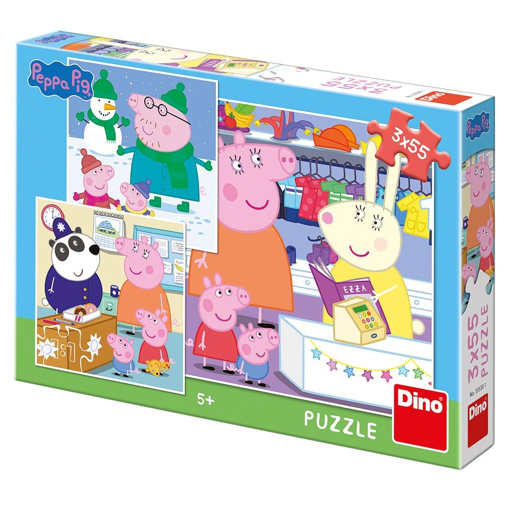 Puzzle PEPPA PIG: VESELÉ ODPOLEDNE 3x55