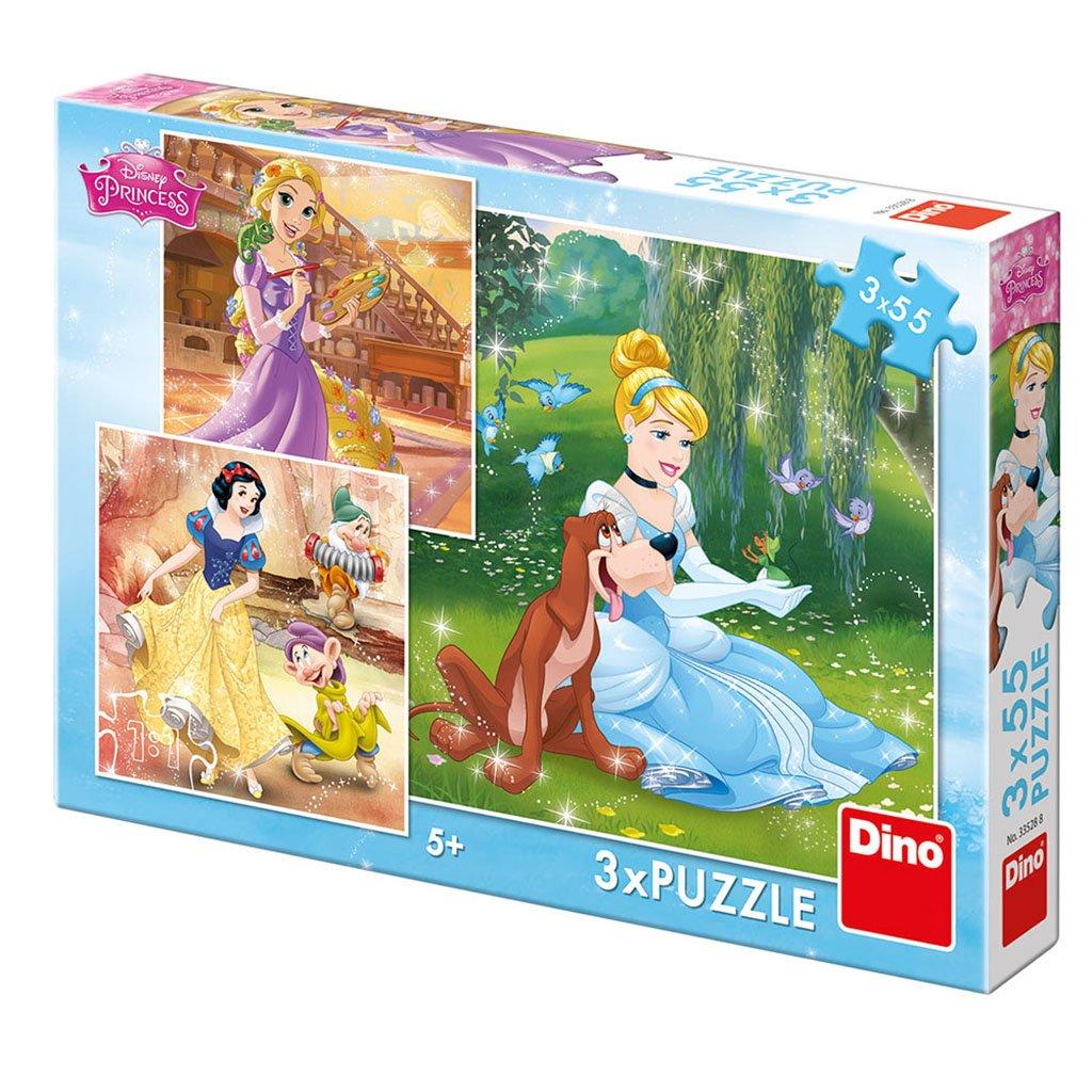 Puzzle PRINCEZNY: VOLNÉ ODPOLEDNE 3x55