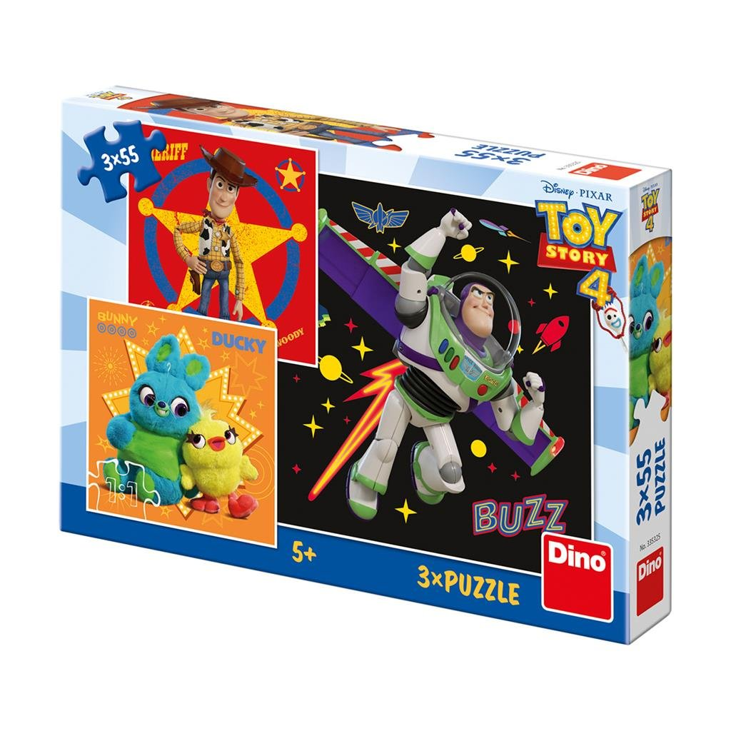 Puzzle TOY STORY 4 3x55