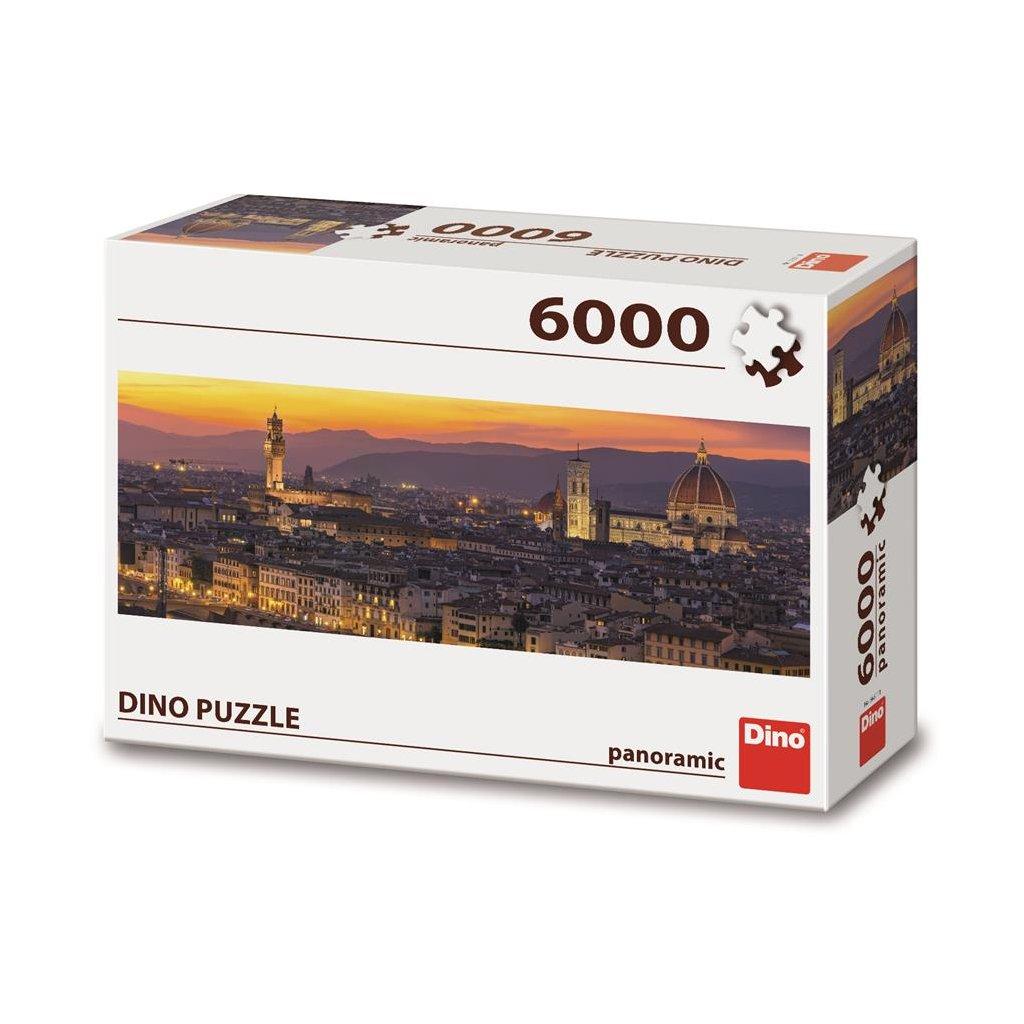 Puzzle ZLATÁ FLORENCIE 6000