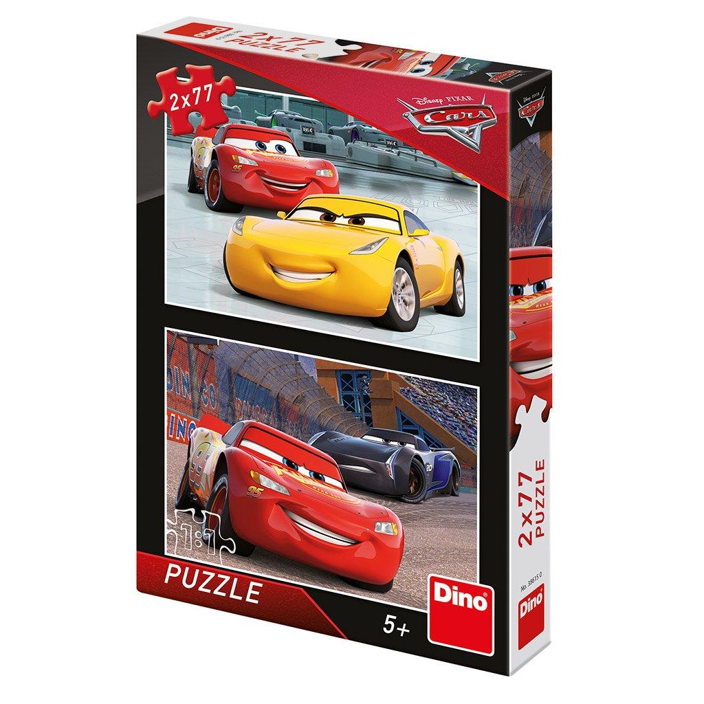 Puzzle CARS 3: ZÁVODNÍCI 2x77