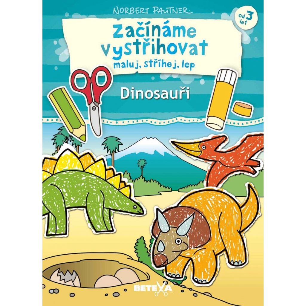 Začínáme vystřihovat – Dinosauři
